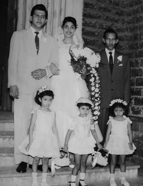 Edwina and Keith's wedding