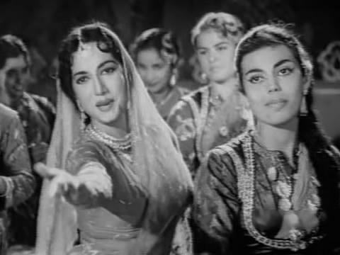 Edwina with Shakila in a qawwali from Nakli Nawab