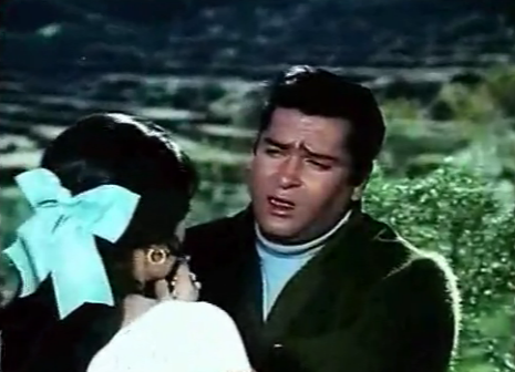 Shammi Kapoor as Ravi in Andaaz