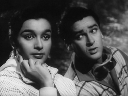 Shammi Kapoor and Asha Parekh in Dil Deke Dekho