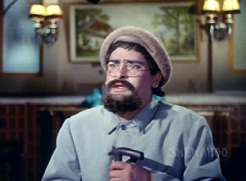 Shammi Kapoor in Professor, as Professor Khanna...