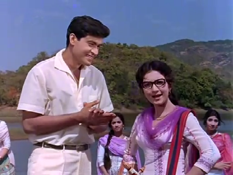 ... and Joy Mukherjee and Tabassum in Phir Wohi Dil Laaya Hoon