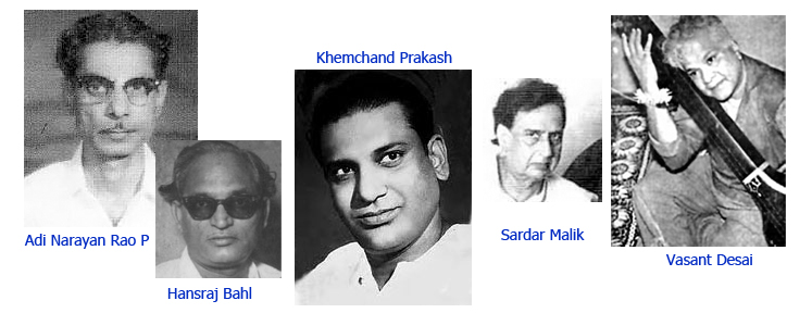 Some lesser-known music directors of Hindi cinema