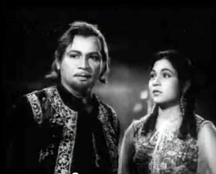 Dhalti jaaye raat, from Razia Sultana - composed by Lachhiram