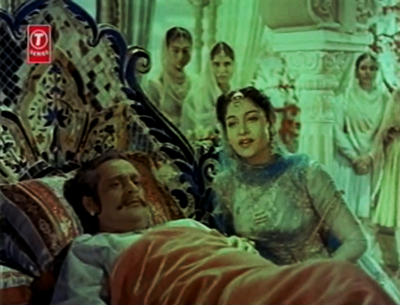 Jehangir frets on his sickbed