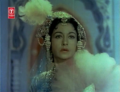 Veena as Noorjehan in Taj Mahal
