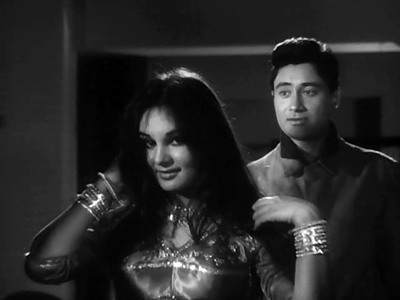 Kalpana with Dev Anand in Teen Deviyaan