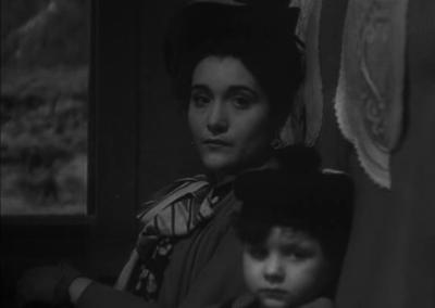 Signora Doppo and her son