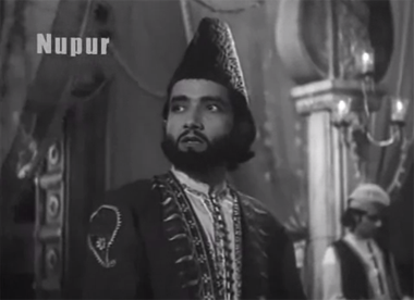 Bharat Bhushan in and as Mirza Ghalib (1954)