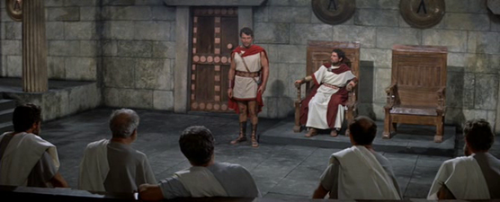 At the council of Sparta