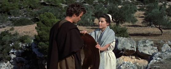 Ellas smuggles Phyllon's shield to him