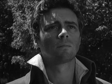 Dirk Bogard as Sydney Carton in A Tale of Two Cities