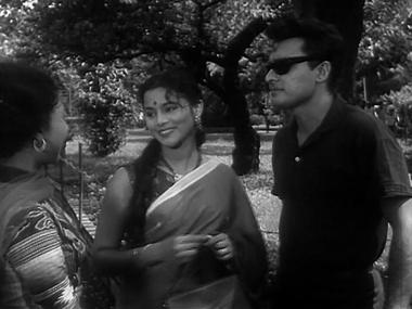 Tara and Subhash, with Leela