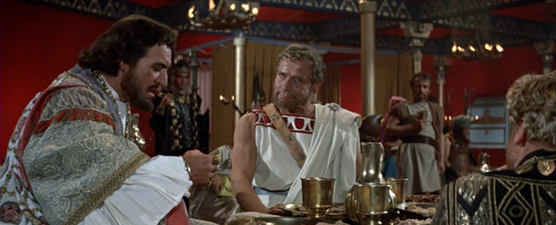 In Xerxes's tent - with an ex-Spartan king