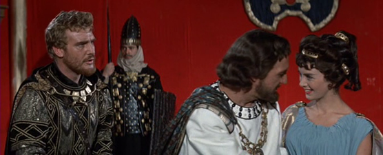 Hydarnes tries to distract Xerxes from Artemisia