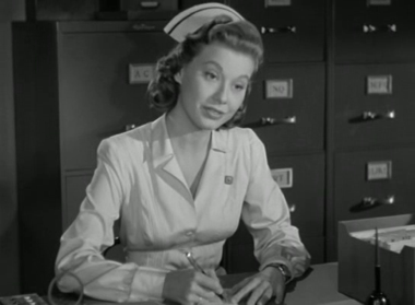 Miss Kelly, the nurse at Chumley's Rest