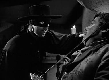 Tyrone Power in The Mark of Zorro