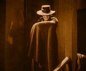 Douglas Fairbanks in The Mark of Zorro