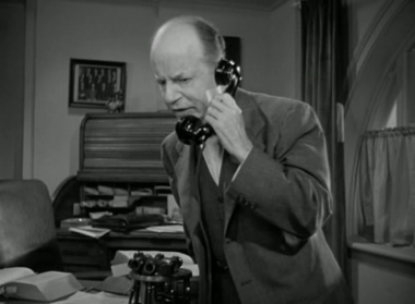 Judge Gaffney receives a phone call from Veta