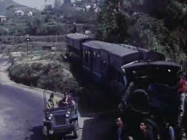 Darjeeling Hill Railway: Mere sapnon ki rani kab aayegi tu, from Aradhana