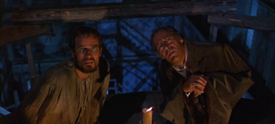 Charlton Heston and Rex Harrison in The Agony and the Ecstasy