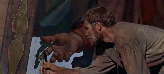 Charlton Heston as Michelangelo in The Agony and the Ecstasy