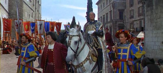 Pope Julius II returns to Rome, victorious