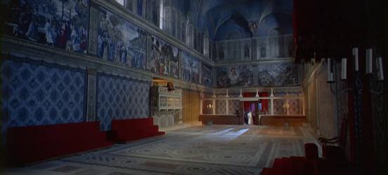Inside the Sistine Chapel -