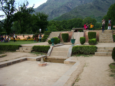 Nishat Bagh, today