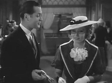 Robert Montgomery and Madge Evans in Piccadilly Jim