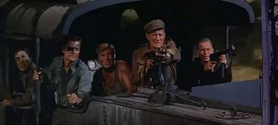 A scene from Von Ryan's Express