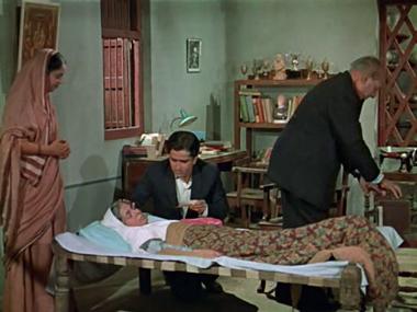 Vijay's mother falls ill