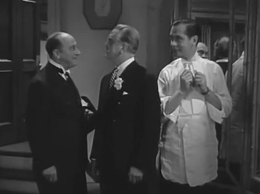 Eric Blore, Frank Morgan and Robert Montgomery in Piccadilly Jim