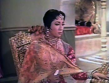 Mala Sinha in and as Jahanara