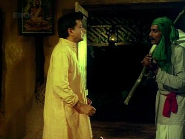 A traveller asks Gopal for shelter
