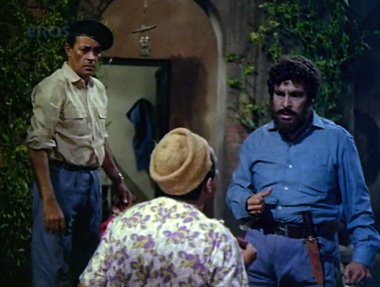 Shankar plots to murder Gopal, Jamuna and Sunder by burning down their hut