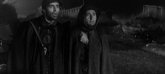 Vittorio Gassman and Alberto Sordi in La Grande Guerra