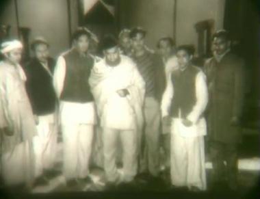 A delegation from Neecha Nagar arrives to meet Sarkar