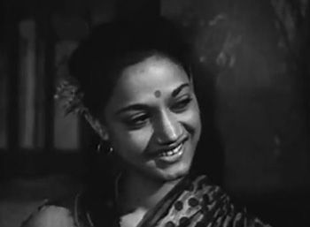 Noor in Naukri, as Kishore Kumar's sister