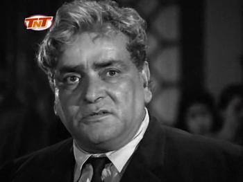 Prithviraj Kapoor in Yeh Raat Phir Na Aayegi