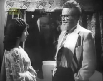 The doctor talks to the young woman