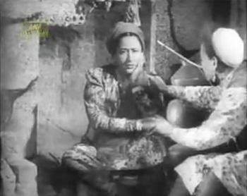 Bulbul's stepmother talks to Bulbul's suitor