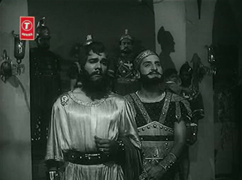 Scipio arrives to tell the king about the boy he's found
