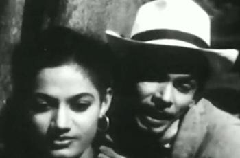 Noor with Johnny Walker in Aar Paar