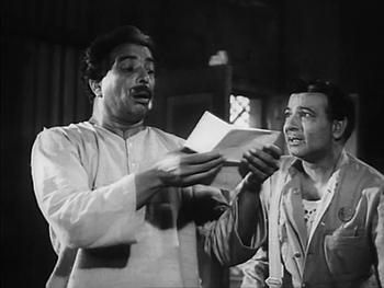 Nivaran Babu receives a startling letter