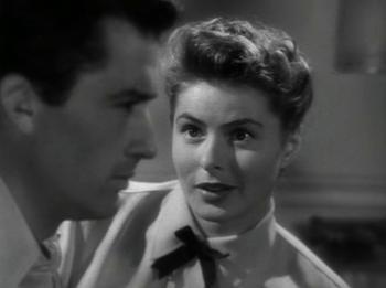 Ingrid Bergman with Gregory Peck in Spellbound