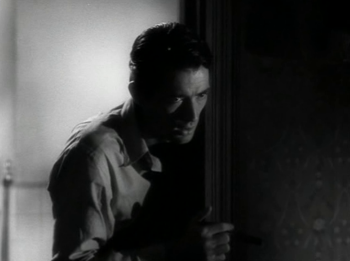 Gregory Peck as 'Dr Edwardes'