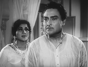 A confrontation between Begum Sahiba and the Nawab