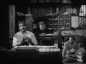 Nivaran Babu and Haradhan at work
