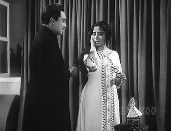 Benazir with Afsar Nawab